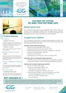 Brochure Aeronautics Download