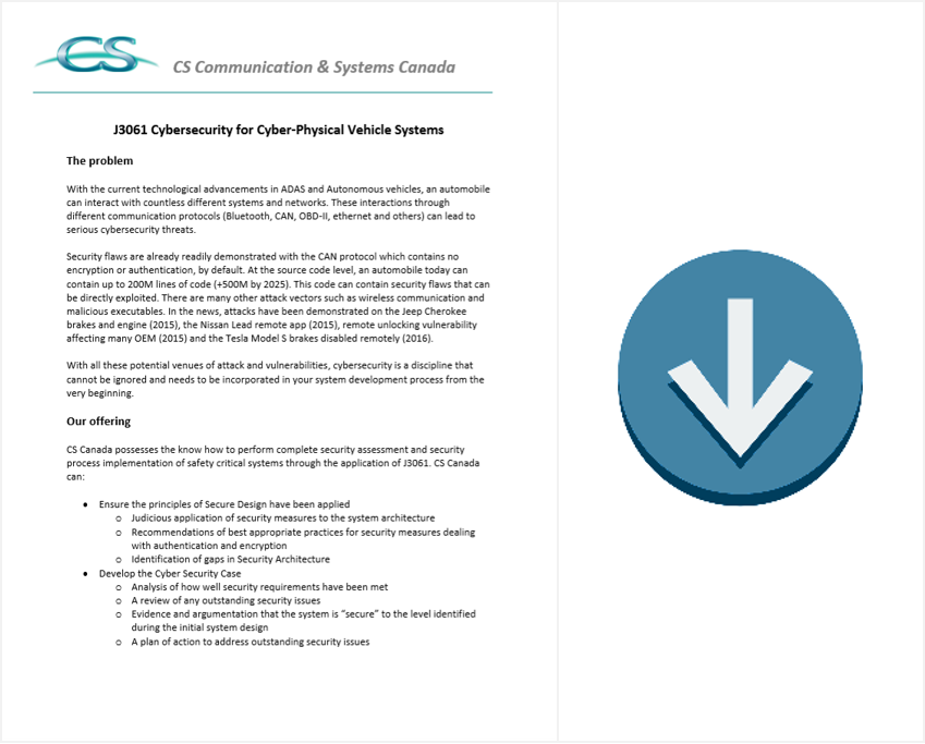 J3061 Cybersecurity Brochure