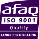 afaq logo ISO 9001