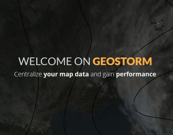 geostorm website snapshot